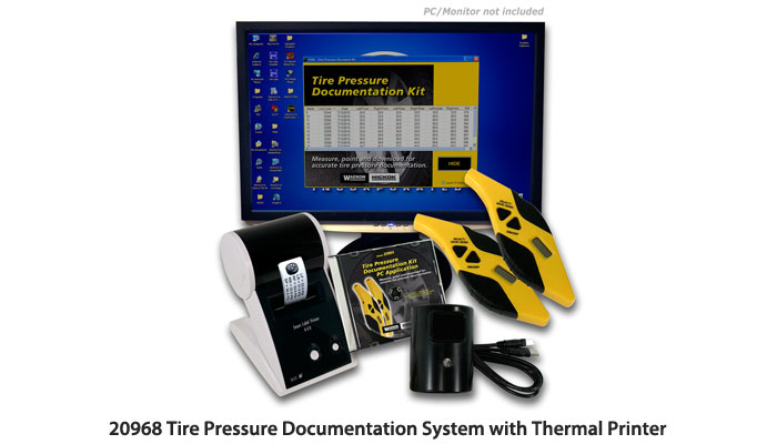 20964, 20968, 20901 Tire Pressure Documentation Systems